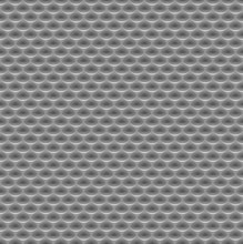 Seamless Abstract Metal Background, Embossed Surface, Oval Recess, Color Gray, White, 3D, Vector