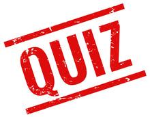Quiz Stempel Rot