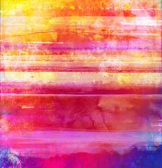 Fototapeta streifen texturen aquarell