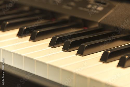 Fotografija  close-up of a piano