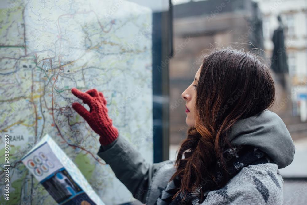 Fototapety, obrazy: Traveler