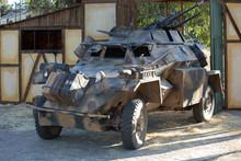 SDKFZ 222, Military Vehicle Of...