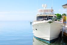 Big Beautiful Power Yacht Boat...