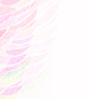 Abstract pink floral background pattern left