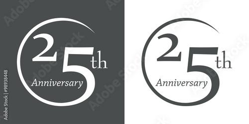 Fotografía  Icono plano 25th Anniversary #1