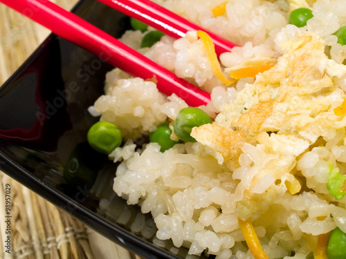Photo  Chinese Rice With Vegetables