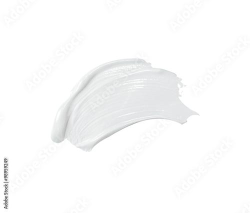 Fotografie, Tablou cosmetic cream strokes