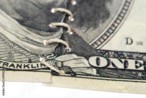 Fototapety, obrazy: Crosslinked bill