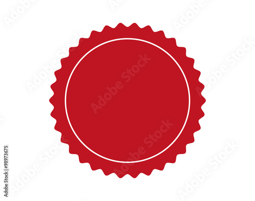 Stamp or seal for quality Fototapete