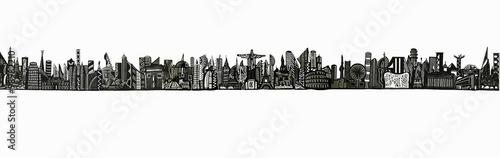 World Skyline 01 by Sérgio Piancó