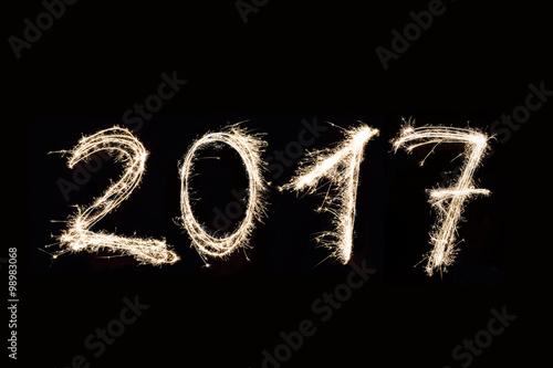 Fotografia  2017 Written with Fireworks