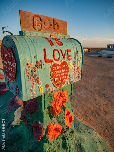 Photo  Salvation Mountain