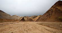 Paesaggio In Islanda, Deserto ...