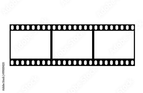 Fototapeta Filmstrip vector obraz na płótnie