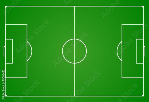 Fotografie, Obraz  Football pitch
