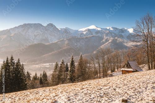 Morning in Tatra mountain