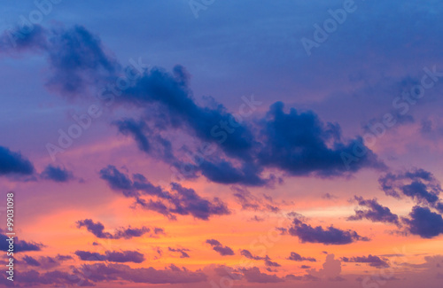 sunset sky #99031098