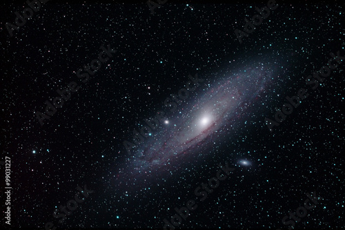 Deurstickers Nasa Andromeda Galaxie M31