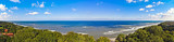 Panorama of the Baltic Sea - Poland