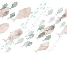 Repeatable Fish Border
