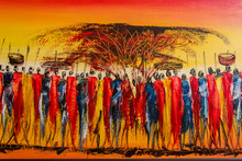 Typical Kenyan Painting For To...