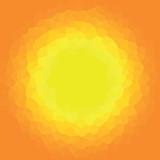 Fototapeta Na sufit - piksel, słońce