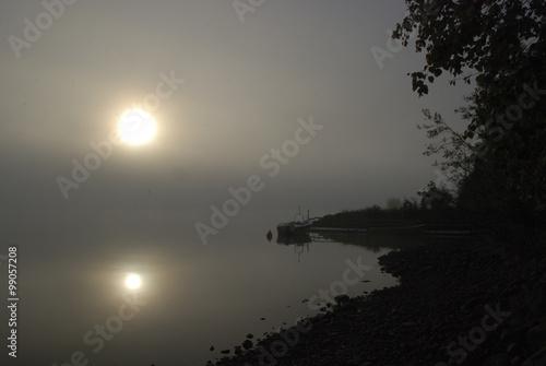 Fotografie, Obraz  Sun in fog