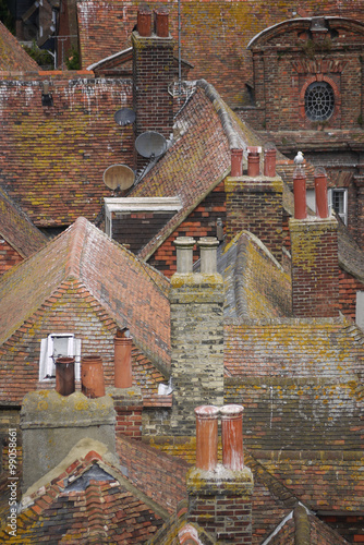 Fototapety, obrazy: UK rooftops