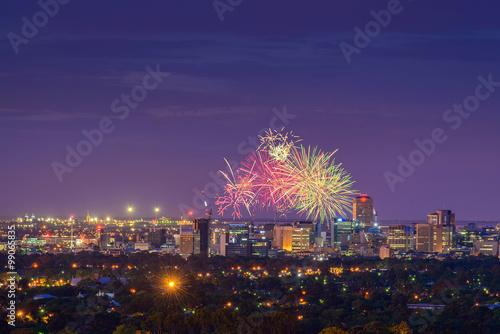 Photo Adelaide fireworks