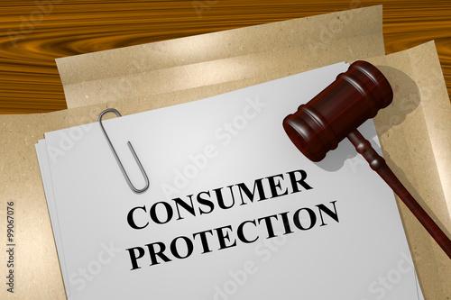 Fotografía  Consumer Protection concept