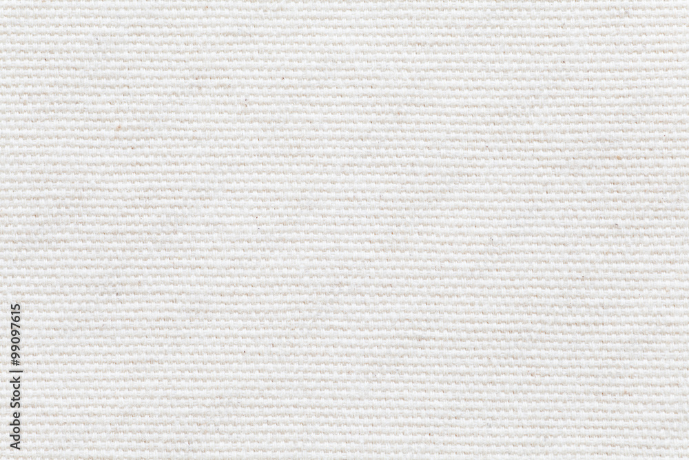 Fototapety, obrazy: Detail of White fabric texture and seamless background