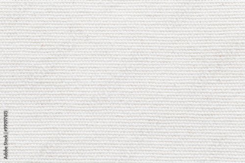 Canvastavla Detail of White fabric texture and seamless background