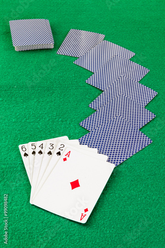 Image related to classic and online casino  games  on a game cards background fr плакат