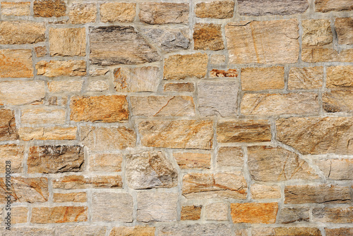 Foto op Aluminium Wand stone wall background