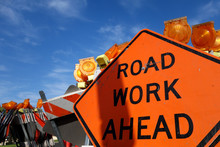 Traffic Safety Roadwork Signs ...