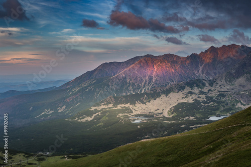 Canvas Prints Mountains Tatra mountains, Poland