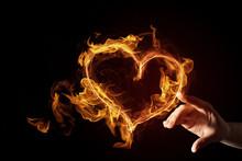 Passionate Love Heart
