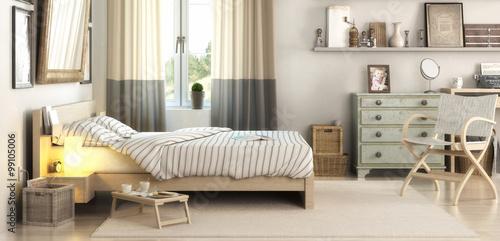 Foto  Schlafzimmereinrichtung (panoramisch)