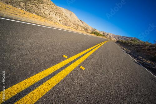 Fotografie, Obraz  Desert Highway Tilt