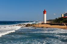 Umhlanga Leuchtturm Mit Durban...