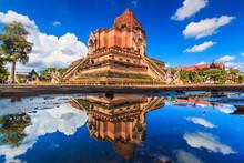 Wat Chedi Luang In Chiangmai P...