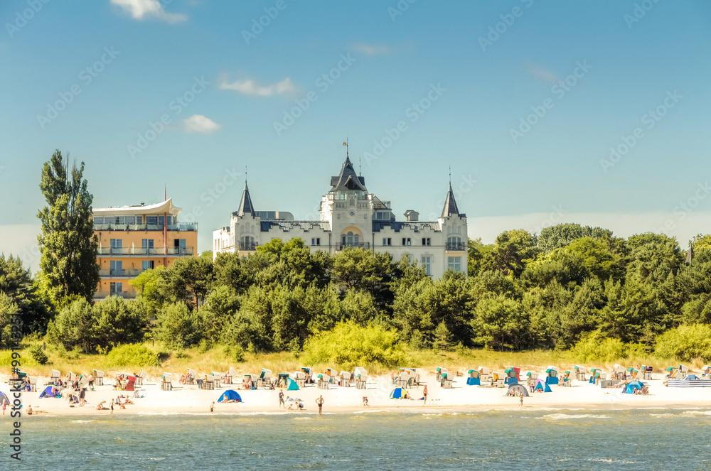 Fototapety, obrazy: Osteebad Zinnowitz auf der Insel Usedom