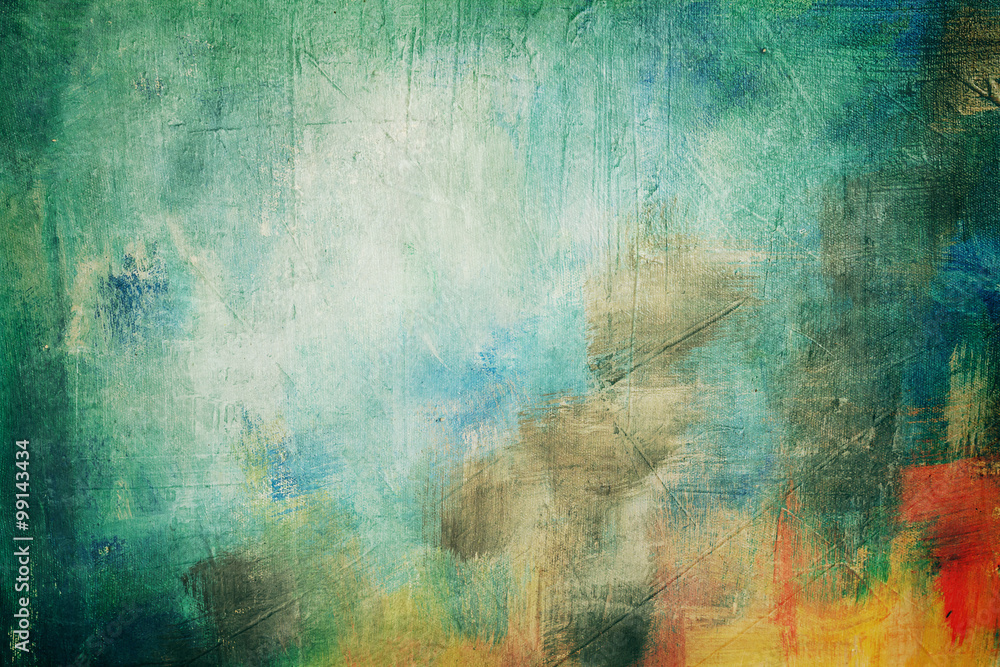 Fototapeta abstract painting background or texture
