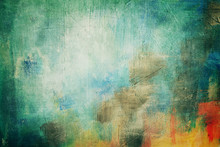Abstract Painting Background Or Texture