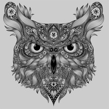 Abstract Owl Patterns