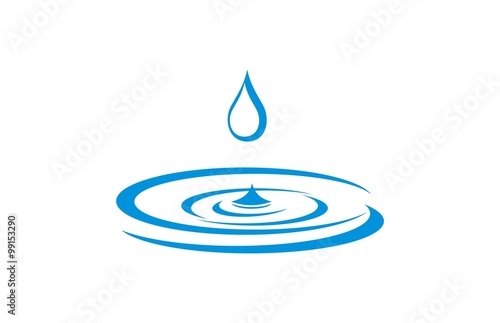 water droplets logo buy this stock vector and explore similar