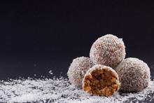 Homemade Coconut Rum Balls