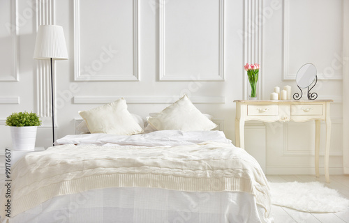 Photo  elegant classic bedroom