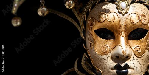 Fotografie, Obraz  Venitian carnival mask