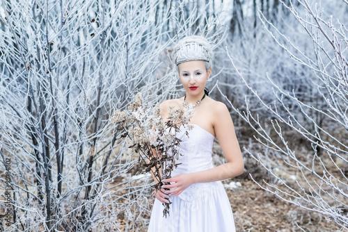 Frost (Anna-Lisa Kowatsch) Tablou Canvas